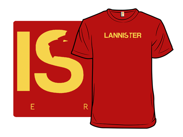 House Lannister T Shirt