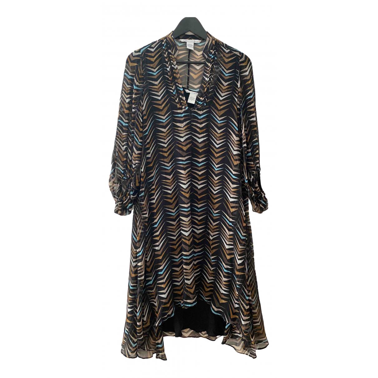 Diane Von Furstenberg \N Multicolour Silk dress for Women 38 FR