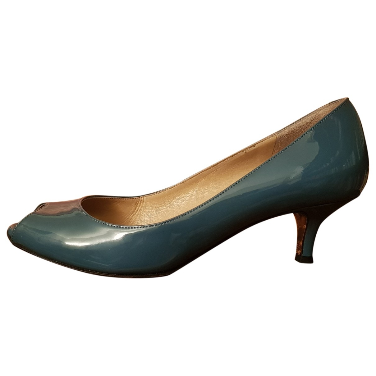 Dolce & Gabbana \N Turquoise Patent leather Heels for Women 36 EU