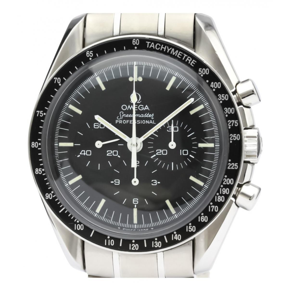 Omega Seamaster Planet Ocean Black Steel watch for Women \N