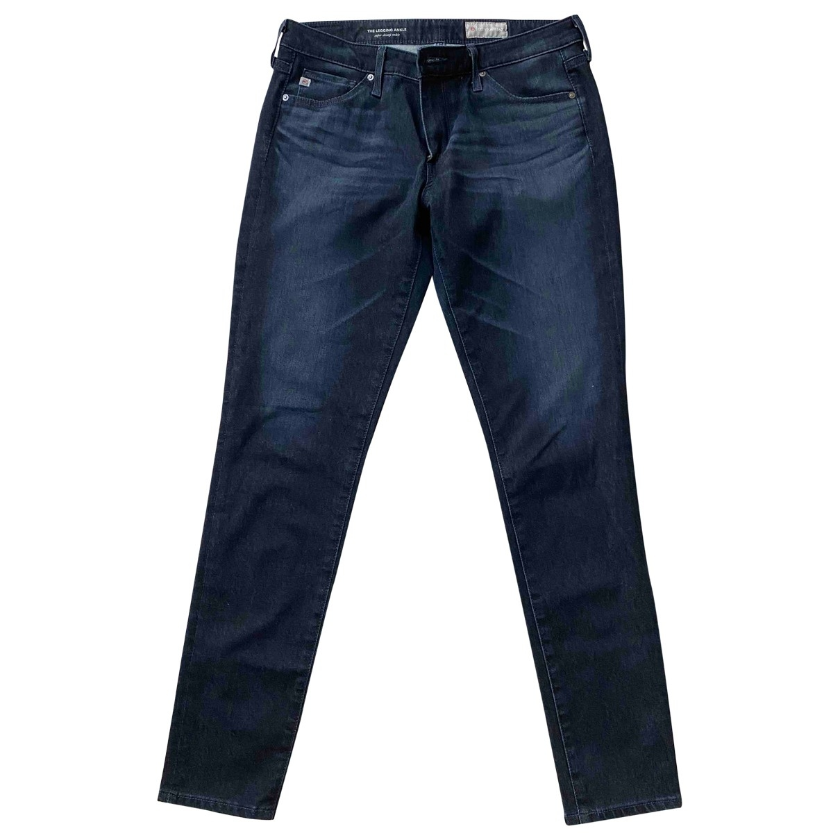 Adriano Goldschmied \N Navy Cotton Jeans for Women 28 US