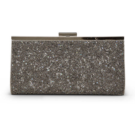 Gunne Sax by Jessica McClintock Laura Evening Bag, One Size , Silver
