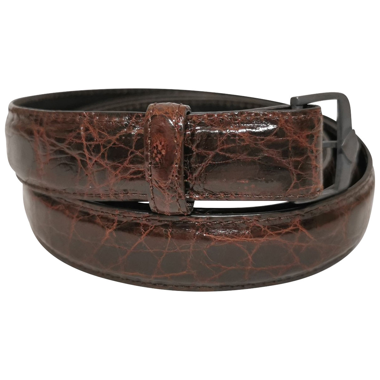 Golden Goose \N Brown Crocodile belt for Women L International