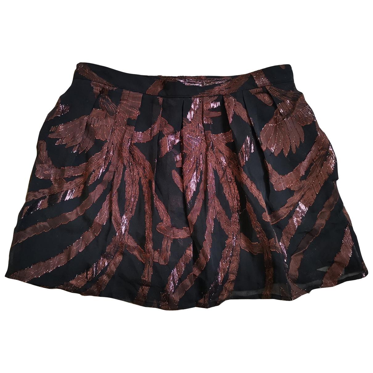 Les Petites \N Metallic Silk skirt for Women 36 FR