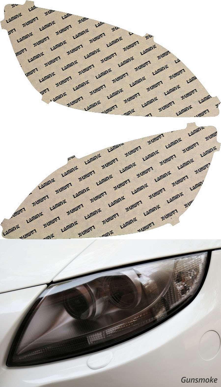 Buick Verano 12-17 Gunsmoke Headlight Covers Lamin-X BU004G