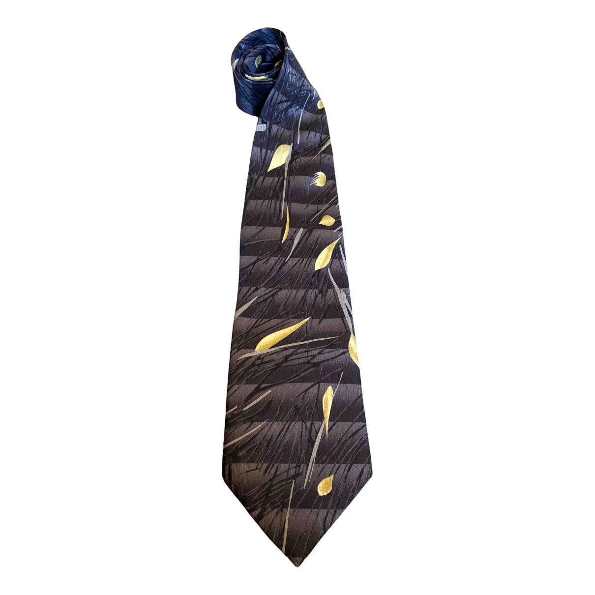 Givenchy \N Brown Silk Ties for Men \N