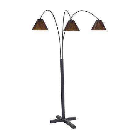Signature Design by Ashley Metal Floor Lamp, One Size , Black