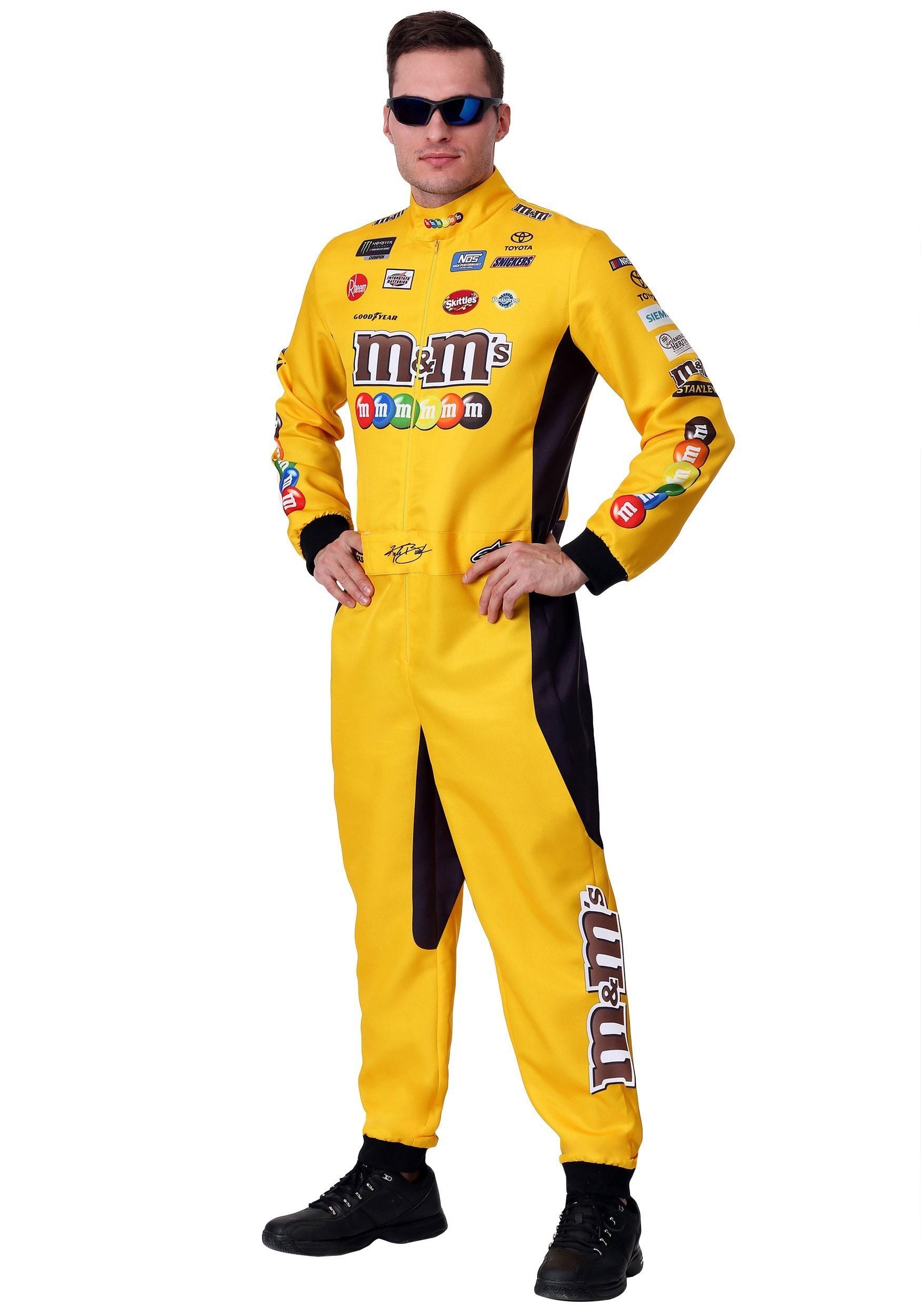 Kyle Busch Plus Size NASCAR Uniform Costume 2X