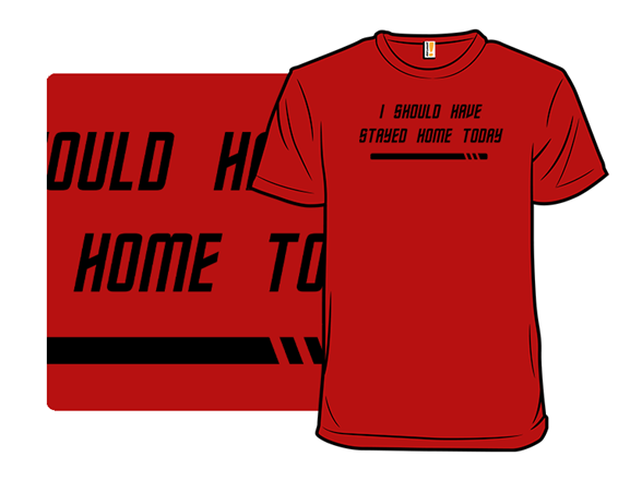 Red Shirt Regrets T Shirt