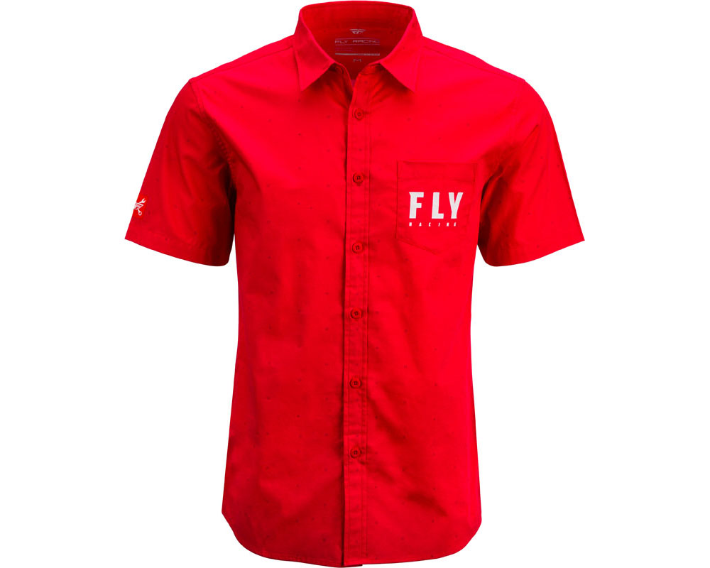 Fly Racing 352-6215S Pit Shirt