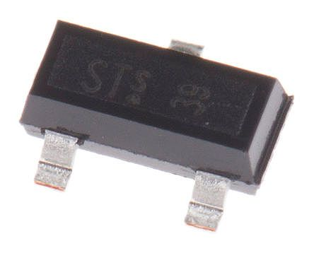 Infineon BFR182E6327HTSA1 NPN Transistor, 35 mA, 12 V, 3-Pin SOT-23 (50)