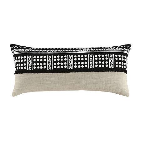 Signature Design by Ashley Mateja Rectangular Throw Pillow, One Size , Black