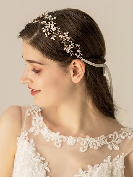 Milanoo Headpiece Wedding Metal Hair Accessories For Bride