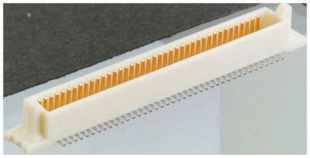 Hirose , FX6, 100 Way, 2 Row, Straight PCB Header