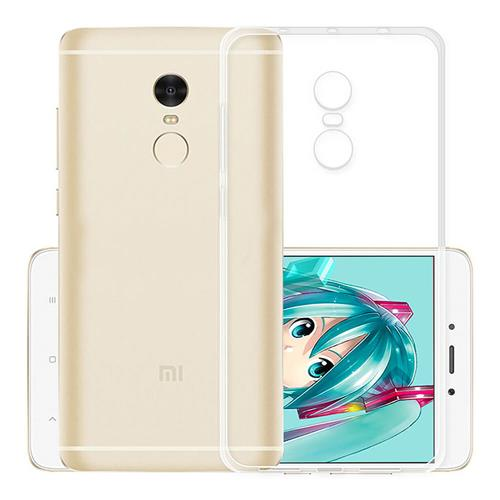 Air Shell Silicon Back Cover High Quality Protective Soft Case Phone Shell For Redmi Note 4X - Transparent