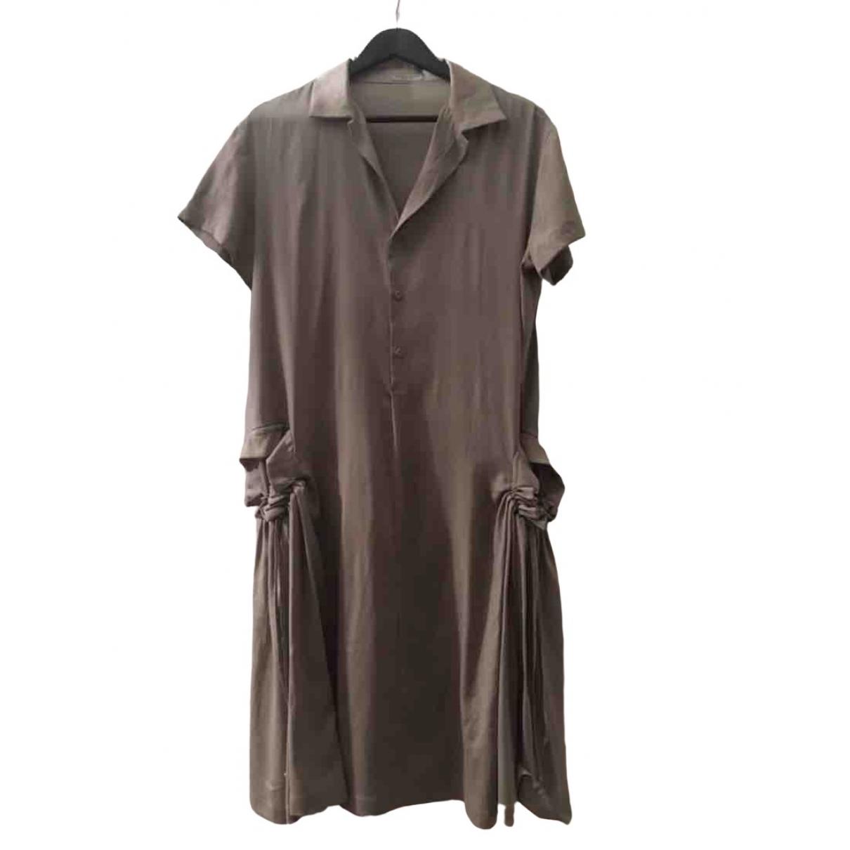 Bottega Veneta \N Beige dress for Women 40 FR