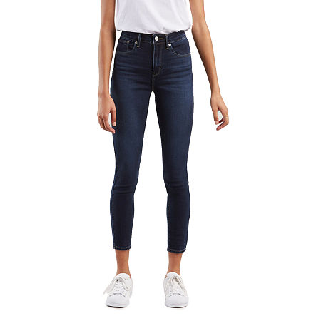 Levi's 721 Skinny Ankle Jeans, 31 , Blue