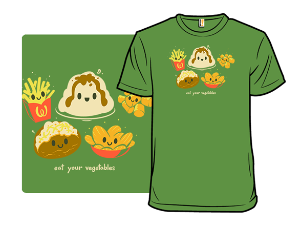 Eat Your Vegetables T Shirt