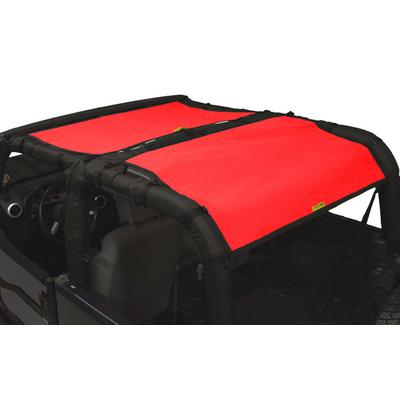 DirtyDog 4x4 Full Sun Screen, Red - D/DJ2SS07F2RD