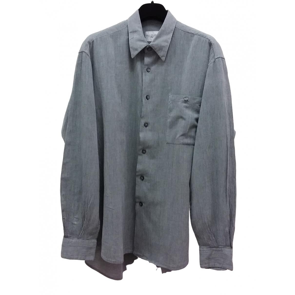 Pal Zileri \N Grey Cotton Shirts for Men XL International