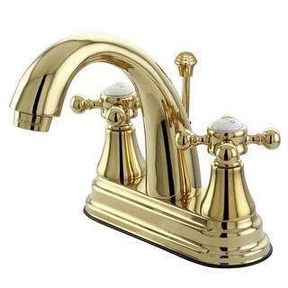 Kingston Brass KS761.BX English Vintage Centerset Bathroom Faucet with (Polished Brass)