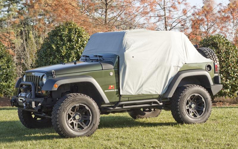 Rugged Ridge 13317.1 Weather-Lite Cab Cover; 07-20 Jeep Wrangler JK/JL, 2 Door Jeep Wrangler 2007-2020