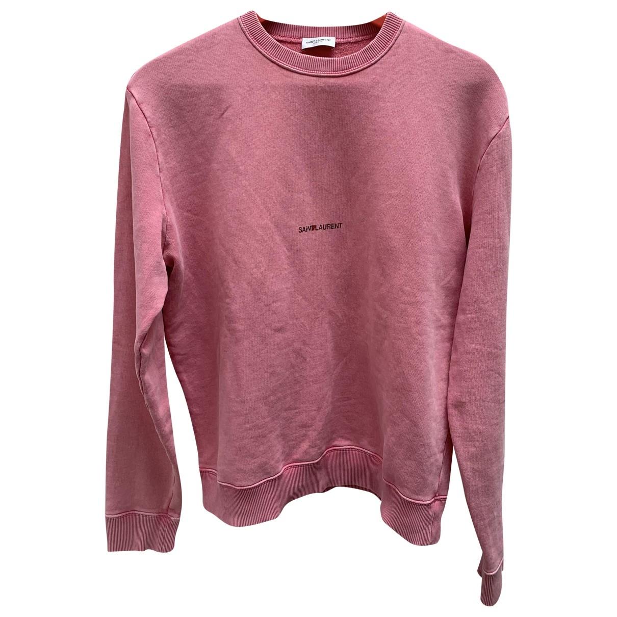 Saint Laurent \N Pink Cotton Knitwear for Women M International