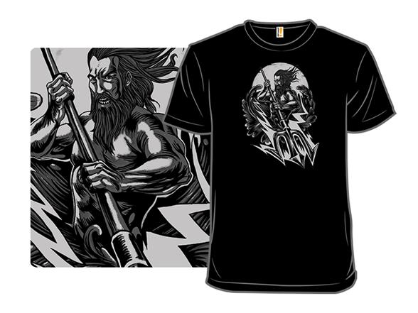 Mighty Poseidon T Shirt