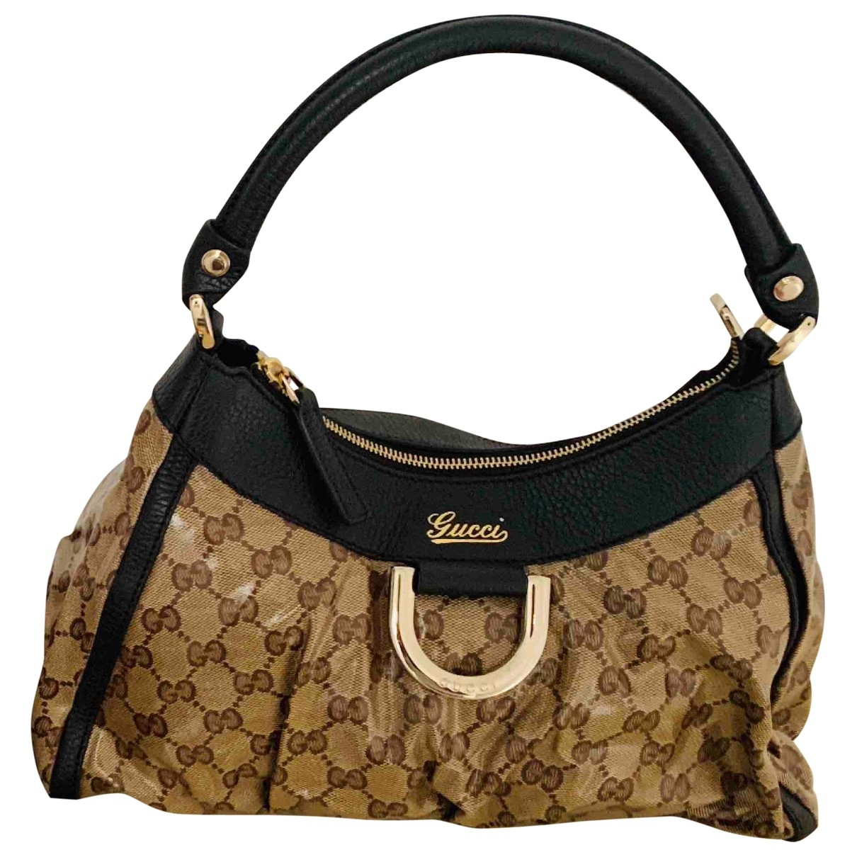 Gucci Hobo Brown Cloth handbag for Women \N