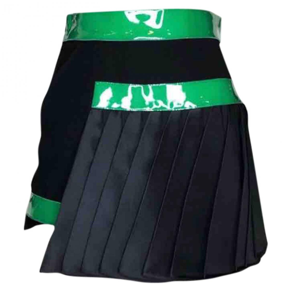 David Koma \N Black Silk skirt for Women 8 US