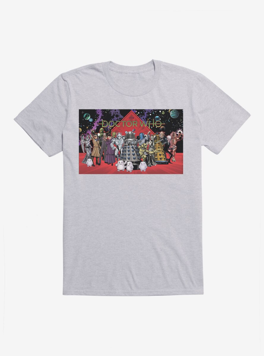 Doctor Who The Crew T-Shirt