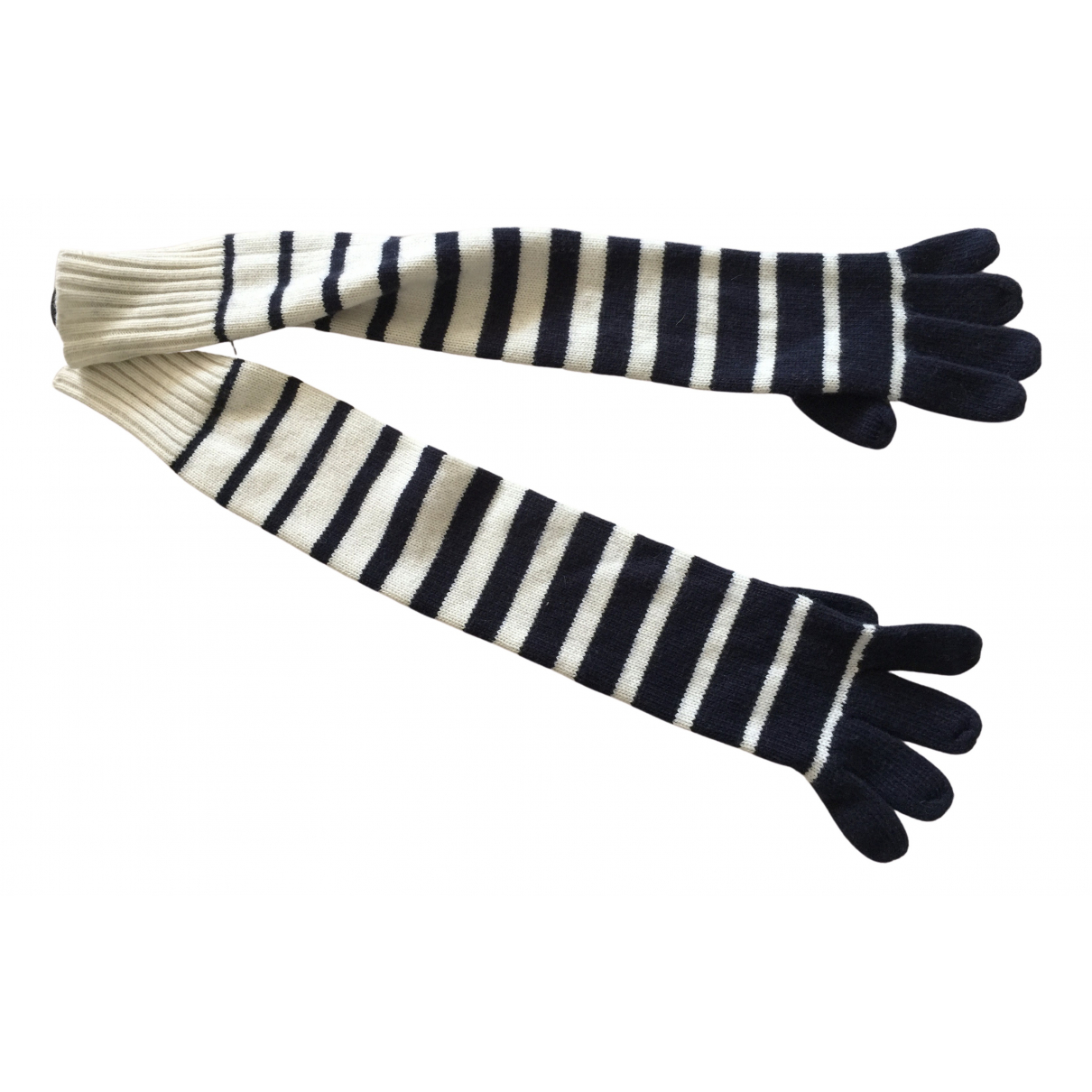 Jean Paul Gaultier \N Navy Gloves for Women M International