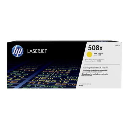 HP 508X CF362X cartouche de toner originale jaune haute capacité 9500 Pages