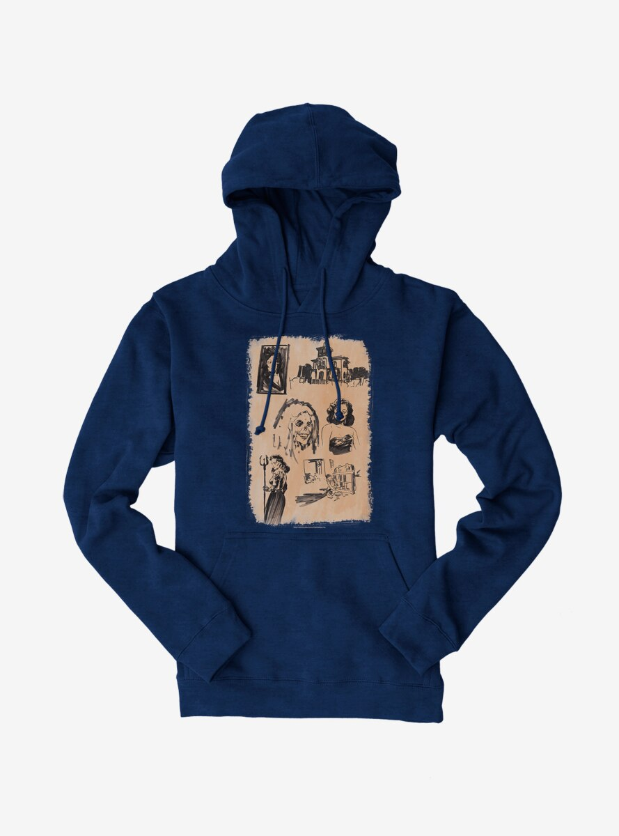 Archie Comics Chilling Adventures of Sabrina Horror Sketches Hoodie