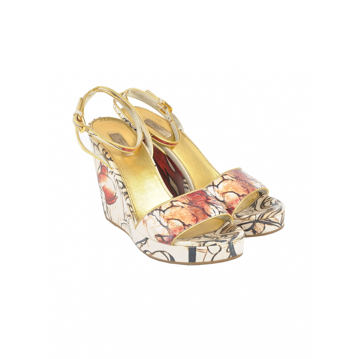 Prada \N Multicolour Leather Sandals for Women 39.5 IT