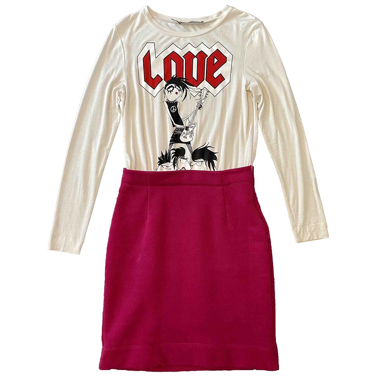 Moschino Love \N Multicolour Cotton - elasthane dress for Women 40 IT