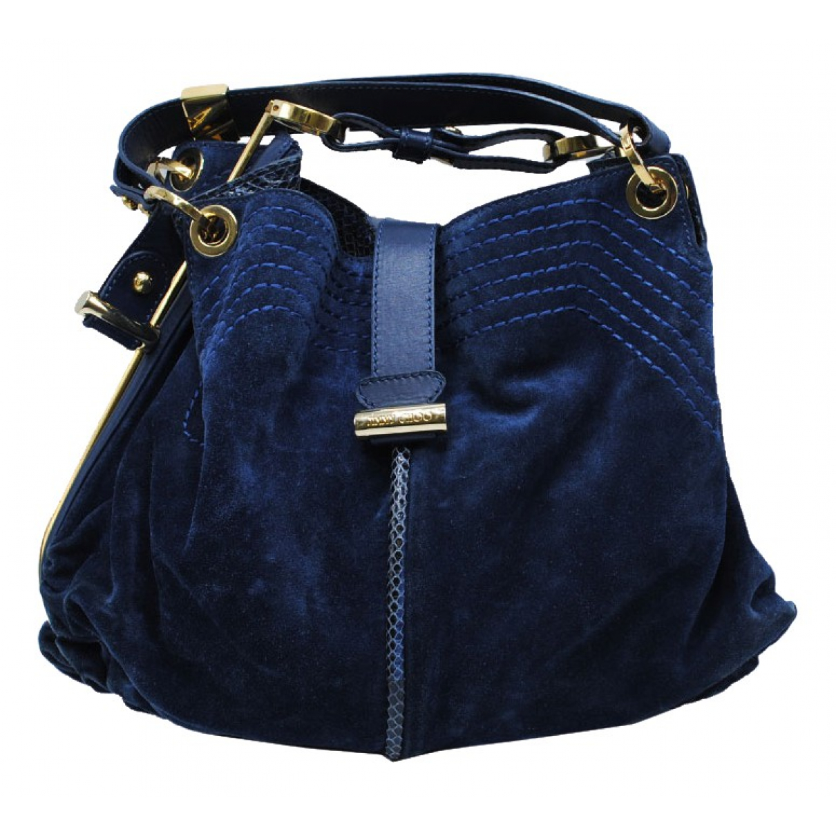 Jimmy Choo \N Navy Suede handbag for Women \N