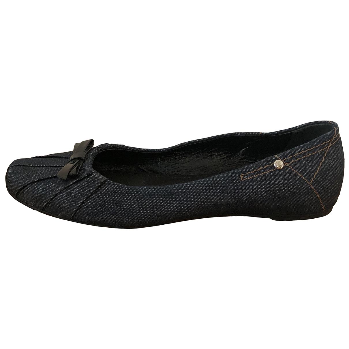 Louis Vuitton \N Cloth Ballet flats for Women 37 EU