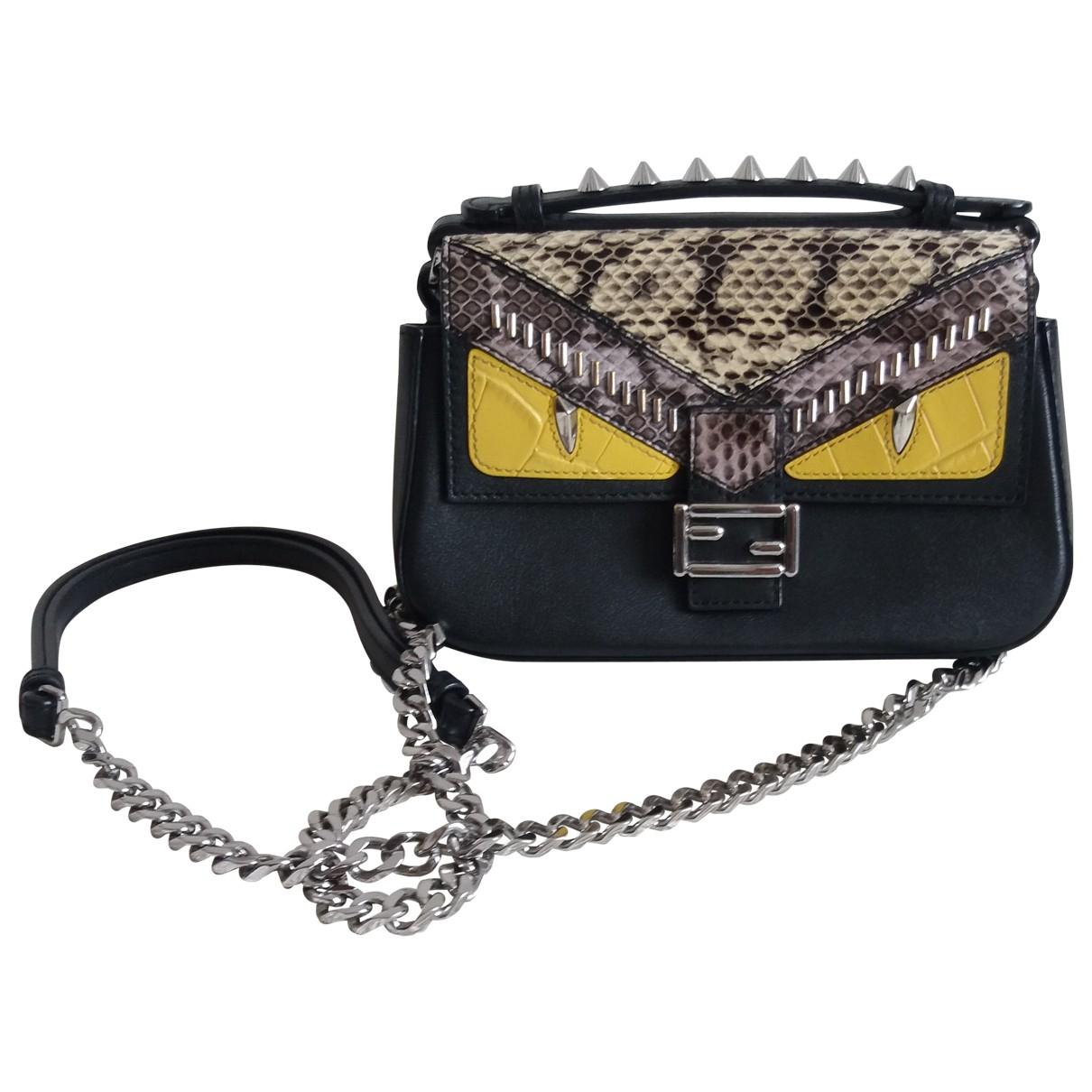 Fendi Baguette Multicolour Leather handbag for Women \N