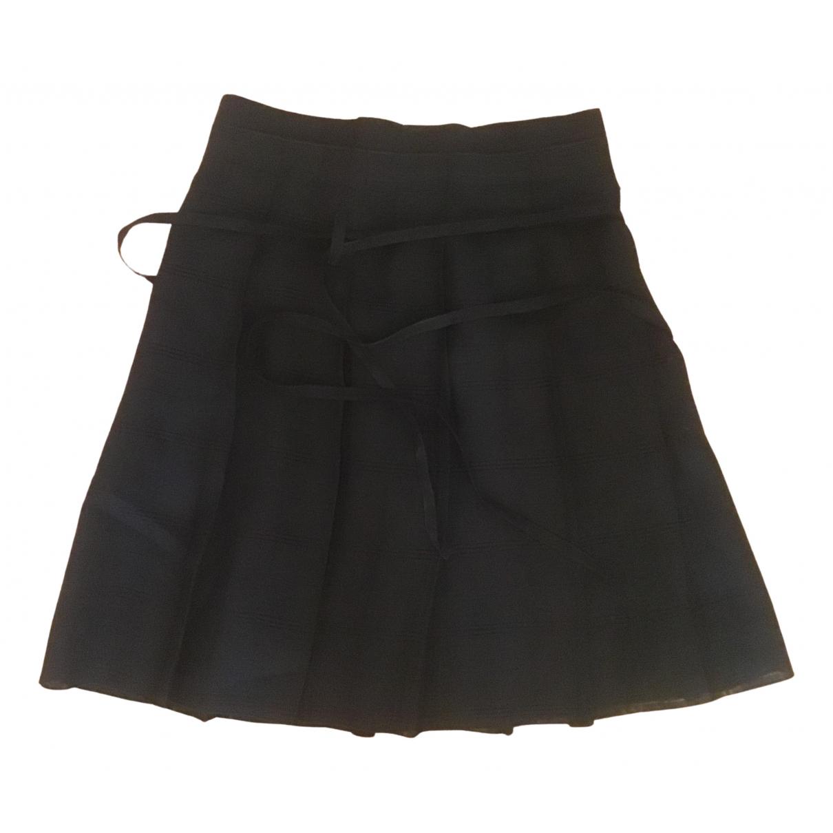 Burberry \N Navy Linen skirt for Women 6 UK