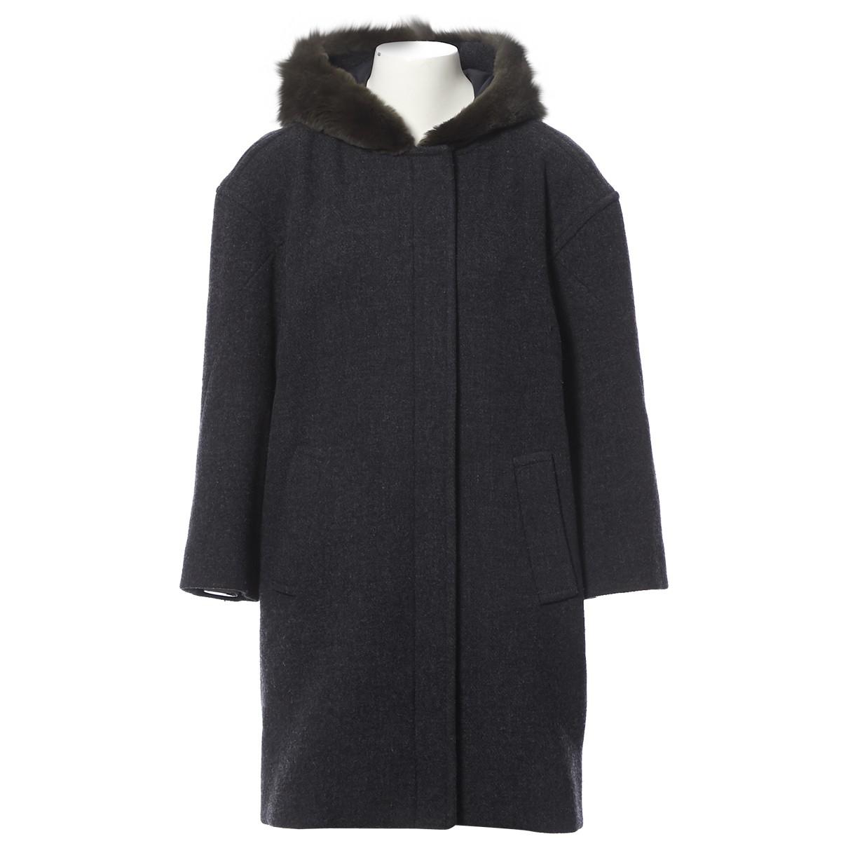 Marni \N Grey Wool coat for Women 40 IT
