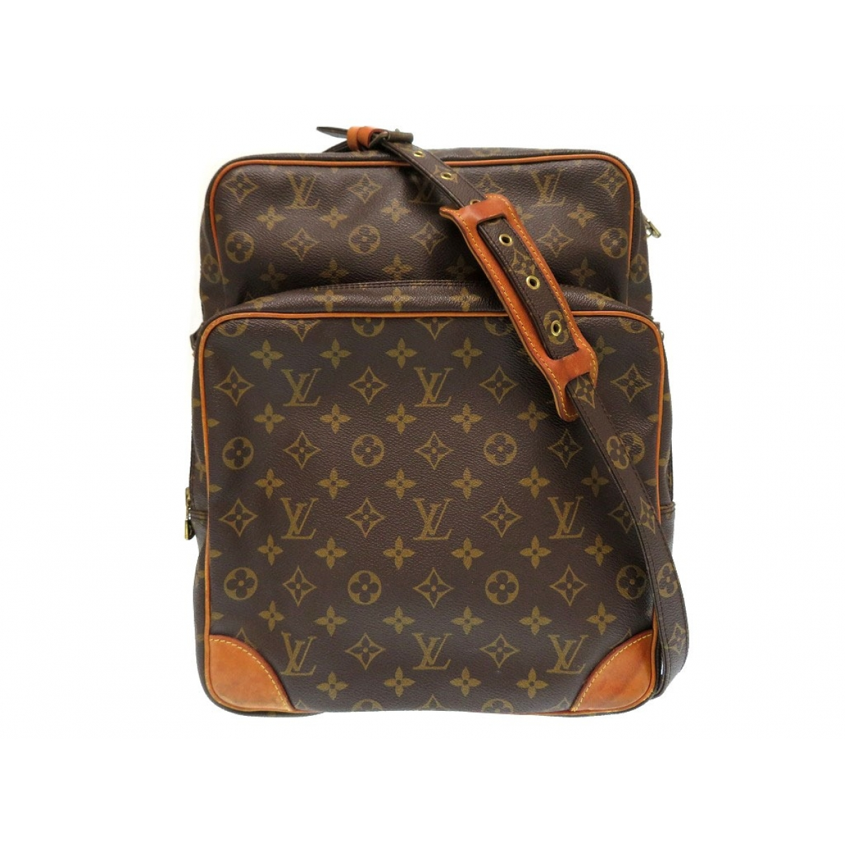Louis Vuitton Amazon Brown Cloth handbag for Women \N