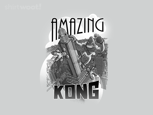 Amazing Kong T Shirt