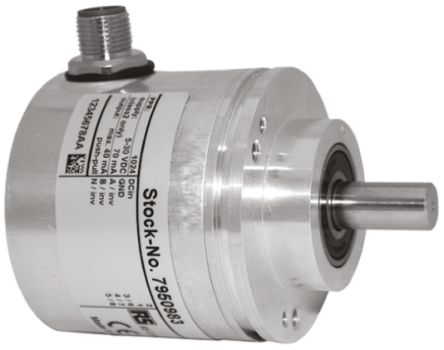 RS PRO Incremental Encoder  4096 ppr 8000rpm Solid 10 → 30 V dc