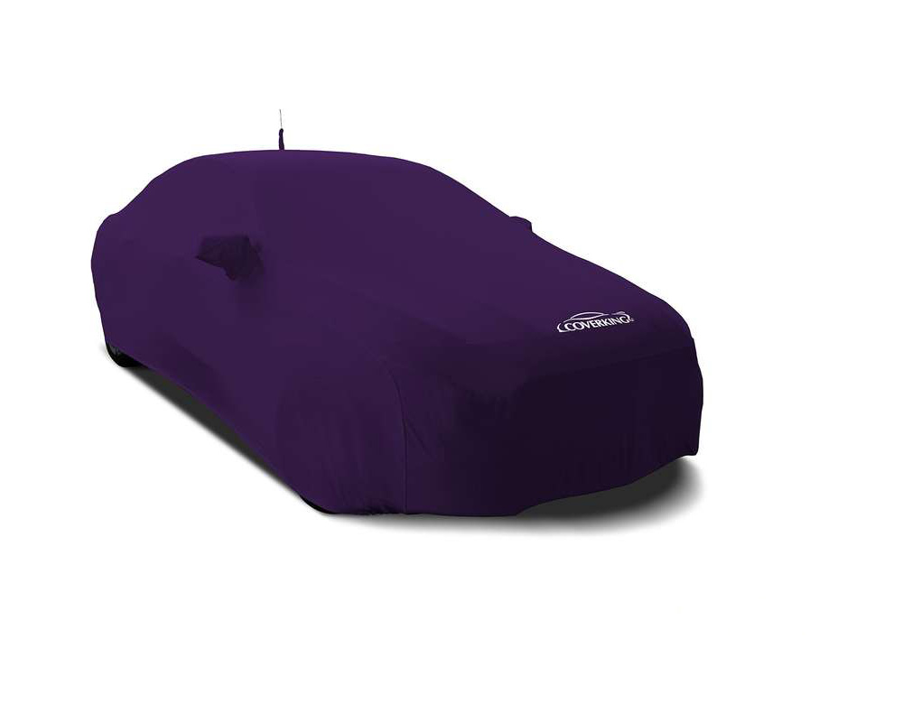 Coverking CVC4SS97AU9335 CVC4SS97 Satin Stretch Plum Crazy Purple Custom Car Cover Audi Q5 2018-2021