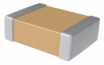 KEMET 0402 (1005M) 10μF Multilayer Ceramic Capacitor MLCC 6.3V dc ±20% SMD C0402C106M9PACTU (50)