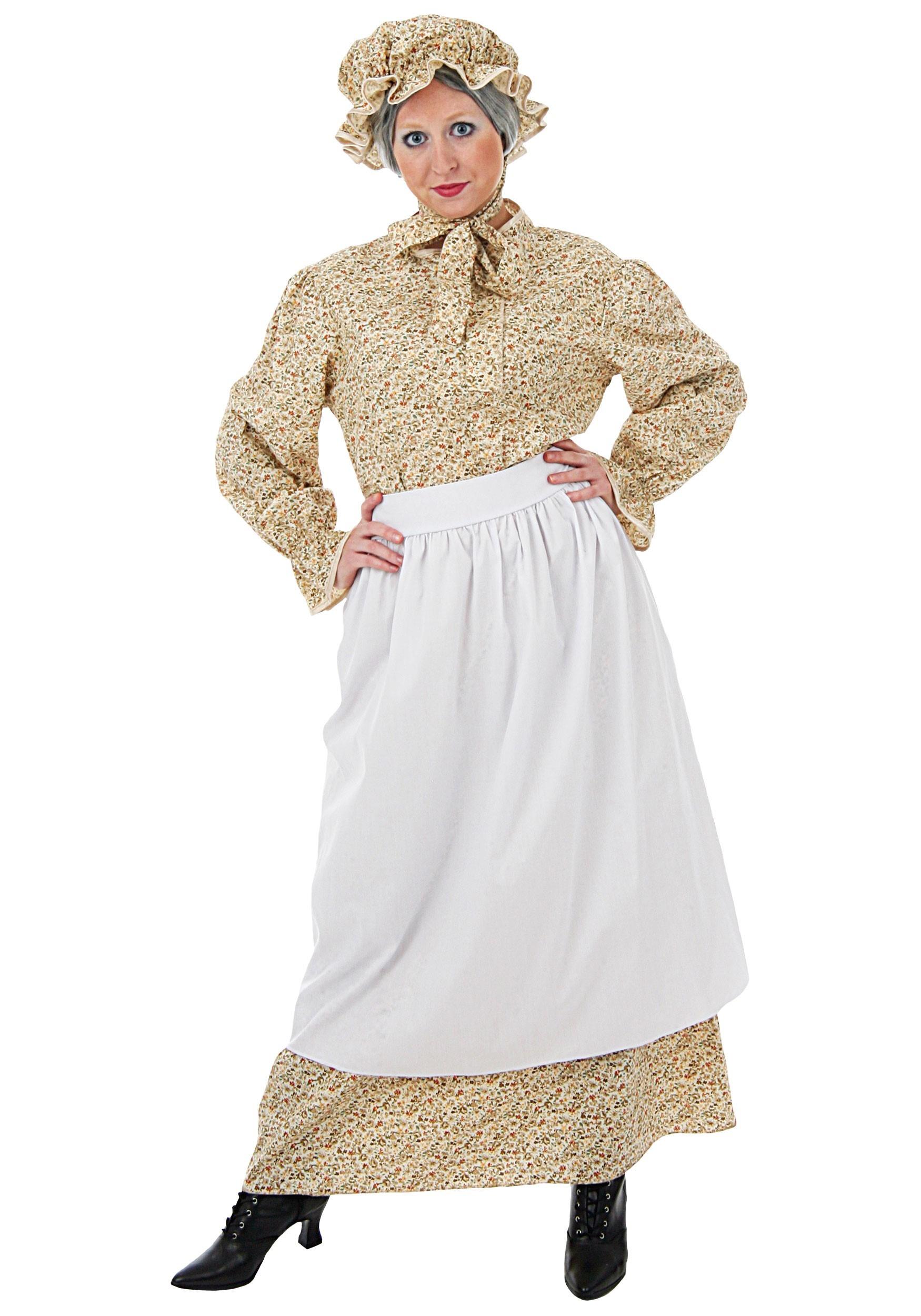 Women's Plus Size Auntie Costume