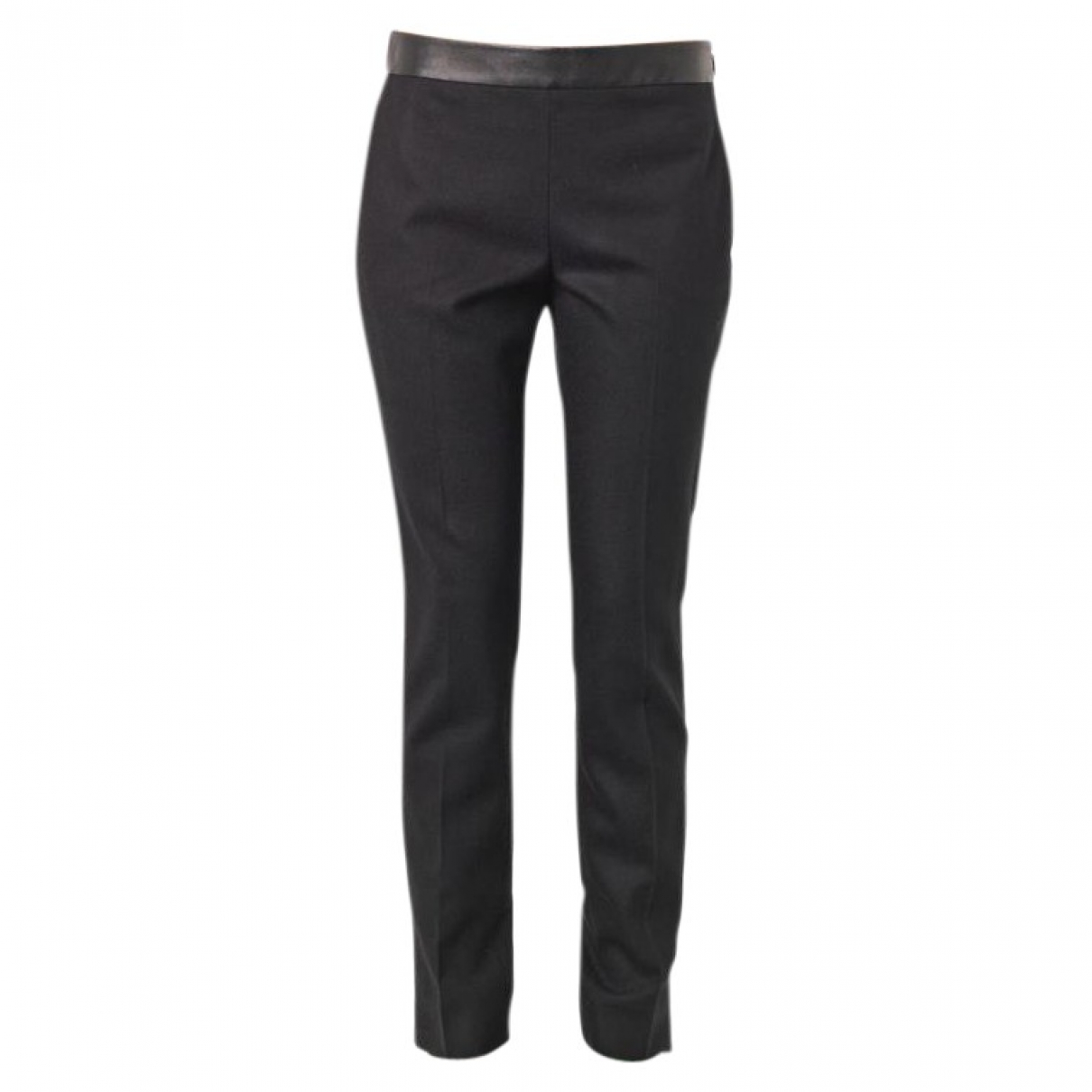 Gucci \N Black Wool Trousers for Women 40 IT