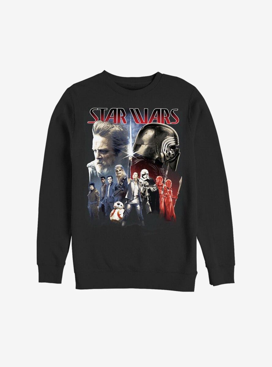 Star Wars Episode VIII The Last Jedi Both Sides Sweatshirt