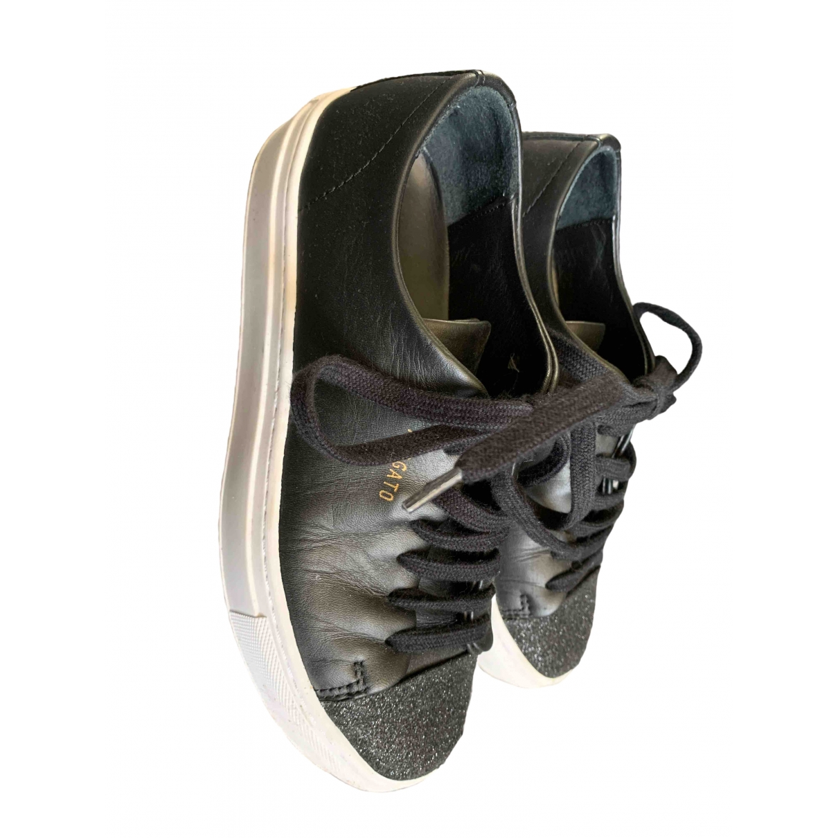 Axel Arigato \N Black Leather Trainers for Women 35 EU